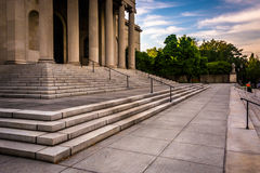 Steps to the Museum of Art in Baltimore, Maryland. Steps to the Museum of Art in Baltimore, Maryland stock photography