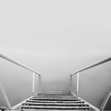 Steps to nowhere Stock Image