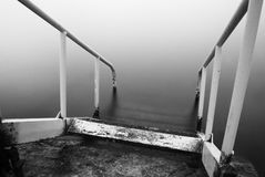 Steps to nowhere Stock Photography