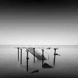 Steps to nowhere Royalty Free Stock Photography
