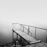 Steps to nowhere Stock Photo