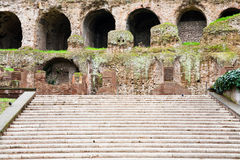 Steps to Palatine, Rome, Italy Royalty Free Stock Image
