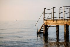 Steps to the sea Royalty Free Stock Image