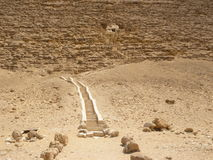 Steps To The Red Pyramid Stock Images