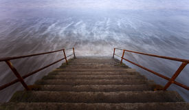 Free Steps To The Sea Stock Photo - 24140870