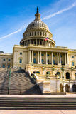 Steps to the United States Capitol, in Washington, DC. Stock Photos