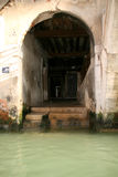 Steps to water, Venice. Italy Stock Photo