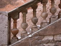 Steps, Tourettes-sur-Loup, France Royalty Free Stock Photo
