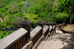 Steps in the tropics. Mountain steps in the tropics Stock Photo