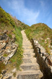 Steps up form the beach. Royalty Free Stock Photo