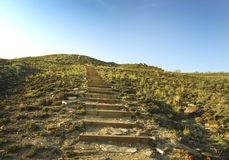 Steps uphill Royalty Free Stock Photo