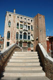 Steps in venice Royalty Free Stock Photography