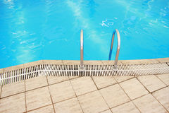 Steps in a water pool Royalty Free Stock Photography