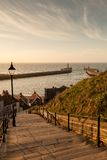 199 Steps Whitby Royalty Free Stock Photos