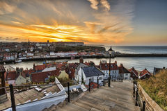 199 steps whitby Stock Images
