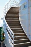 Steps on Worthing pier. England Stock Photos