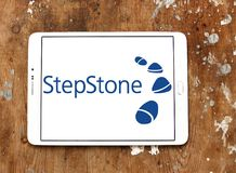 Stepstone-on-line-Einstellungs-Firmenlogo Stockfoto