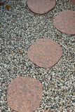 Stepstones Zdjęcie Royalty Free
