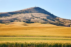 Steptoe Butte Palouse Washington Royalty Free Stock Images