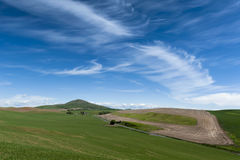 Steptoe Butte. Steptoe Butte State Park is a 150-acre, 3,612-foot-tall National Natural Landmark. The thimble-shaped, quartzite butte looms high over the stock images