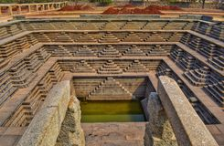 Stepwell foto de stock