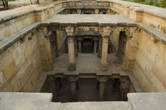 Stepwell photo stock