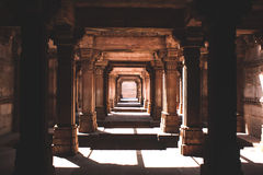 Stepwell Adalaj, Ахмадабад, Индия Стоковые Фото