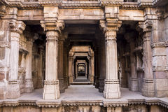 Stepwell, Ahmedabad Obraz Royalty Free