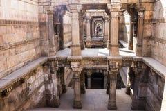 Stepwell, Ahmedabad Obrazy Royalty Free