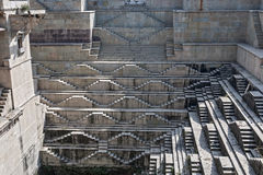 Stepwell in Bundi, India Royalty Free Stock Photo