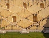Stepwell Chand Baori в Джайпуре, Rajesthan стоковое изображение