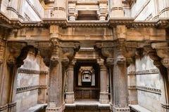 Stepwell Dada Hari-Ni Vav in Ahmadabad, Indien Stockfotografie
