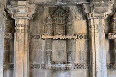 Stepwell del Ni Vav di Dada Hari in Ahmadabad, India immagini stock