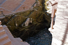 Stepwell in the Indian city of Jodhpur, Rajasthan, India. Stock Photo