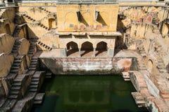 Stepwell o baori, en la India Imagenes de archivo