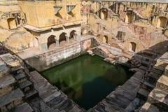 Stepwell ou baori, dans l'Inde Photo libre de droits