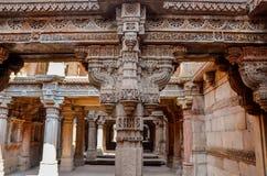 stepwell von adalaj Gujarat Stockbild