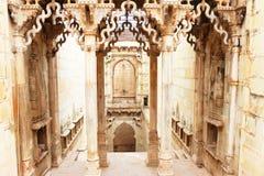 Stepwells bundi Indien Arkivbilder