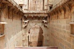 Stepwells bundi Indien Royaltyfria Bilder