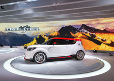 €™Ster Concept Kia Soul Trailâ Royalty-vrije Stock Foto's