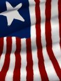 Ster en de Vlag van Strepen - het Digitale Schilderen Stock Foto