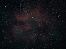Ster en kosmosachtergrond Royalty-vrije Stock Afbeeldingen
