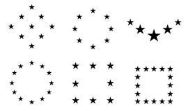 Ster - Vector het Pictogramvector van de pictogramster/de Vector van de van het sterpictogram/ster royalty-vrije illustratie