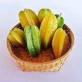Sterappelen in mandewerk Royalty-vrije Stock Foto's