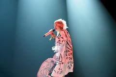 Sterben Antwoord-Pochen-Partyband im Konzert am Sonar-Festival Stockfotos