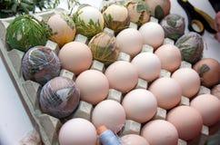 Sterben an Ostereiern Lizenzfreie Stockbilder