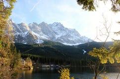 Sterben Zugspitze Stockfoto