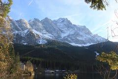 Sterben Zugspitze Stockfotografie