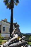 Sterbender Achilleus, Achilleions-Palast - Korfu Lizenzfreie Stockfotos