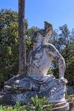 Sterbender Achilleus auf der Terrasse am Achilleions-Palast auf der Insel von Korfu Griechenland errichtet von der Kaiserin Eliza Lizenzfreie Stockfotografie